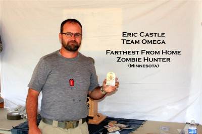 Eric Castle- Farthest from Home Zombie Hunter (Minnesota)